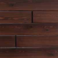 Synergy Cypress by Synergy Wood features prefinished, handcrafted wood walls and wood ceilings. Ideal for indoor and exterior covered porches.