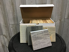 Synergy Wood real wood samples