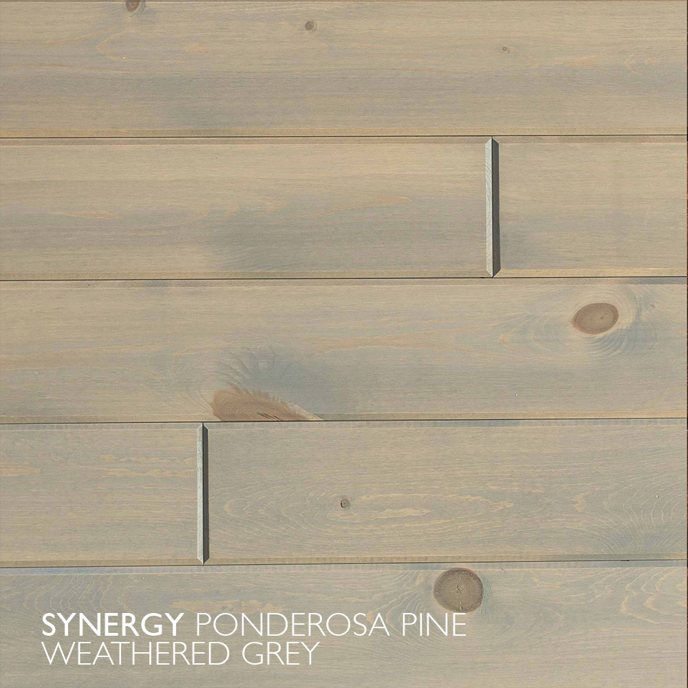 Synergy Ponderosa Pine Weathered Grey