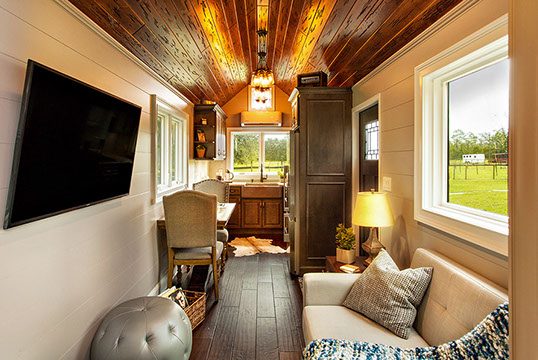 SYNERGY WOOD FEATURED ON DIY NETWORKS TINY HOUSE BIG LIVING